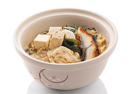 Мисо-суп с угрем